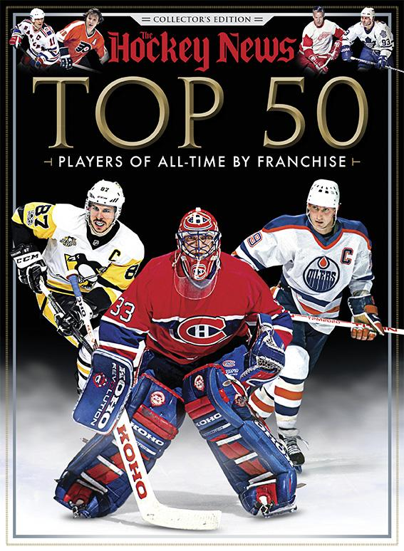 TOP 50 PLAYERS OF ALL-TIME BY FRANCHISE - COLLECTOR'S EDITION