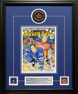 MCDAVID AND MATTHEWS | THE MONEY AND POWER ISSUE 2016 | FRAMED COVER
