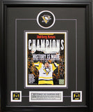 PITTSBURGH PENGUINS | 2017 STANLEY CUP CHAMPIONS | FRAMED COVER