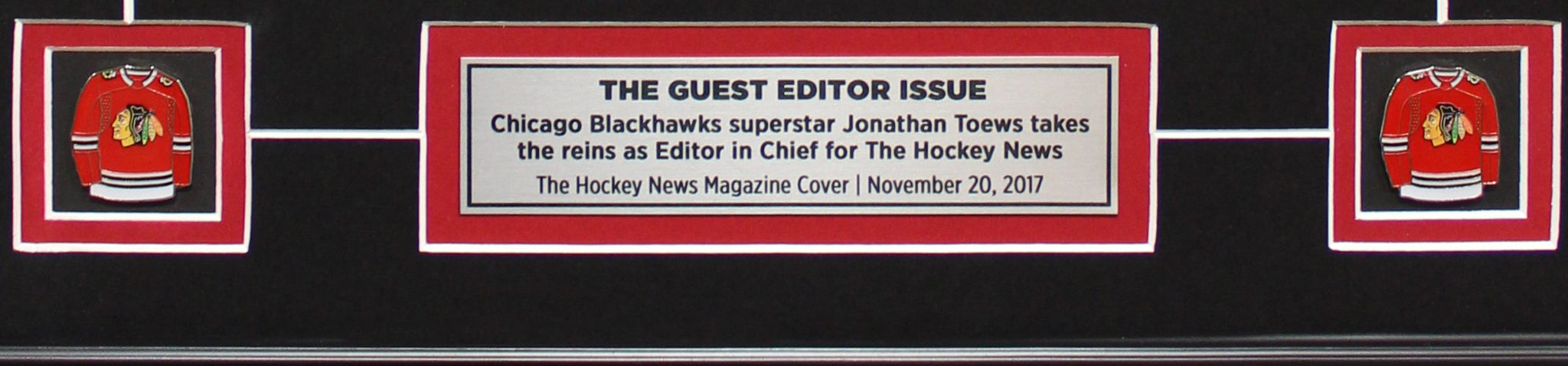 JONATHAN TOEWS   THE GUEST EDITOR ISSUE   FRAMED COVER – The