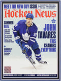 JOHN TAVARES | MEET THE NEW GUY ISSUE | FRAMED COVER