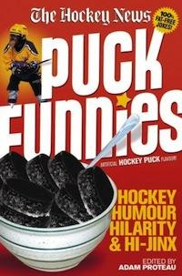 PUCK FUNNIES | HOCKEY HUMOUR HILARITY & HI-JINX | BOOK