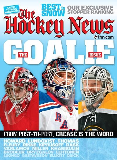JAN 30 2012  | THE GOALIE ISSUE