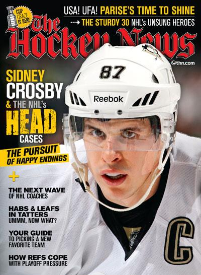 APR 30 2012  | SIDNEY CROSBY & THE NHL'S HEAD CASES