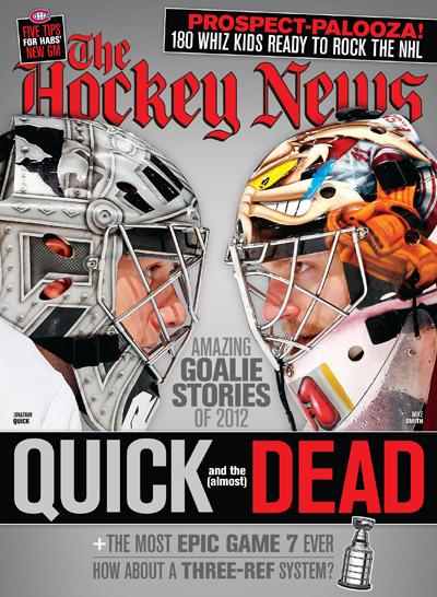 2012 AMAZING GOALIE STORIES | JONATHAN QUICK & MIKE SMITH
