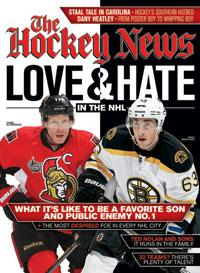 2012 LOVE & HATE IN THE NHL | ALFREDSSON & BRAD MARCHAND