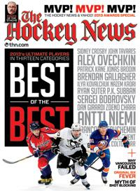 2013 THE HOCKEY NEWS & YAHOO! AWARDS SPECIAL