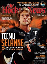 2013 TEEMU SELANNE A FLASHY FINISH FOR A NHL LEGEND