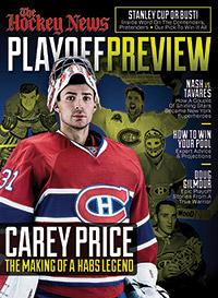 2015 PLAYOFF PREVIEW | CAREY PRICE