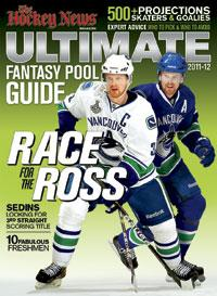 2011 - 2012 ULTIMATE FANTASY POOL GUIDE