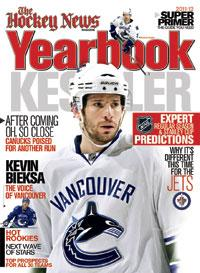 2011/12 YEARBOOK | Vancouver Cover