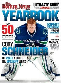 2012 - 2013 NHL YEARBOOK | Vancouver Cover