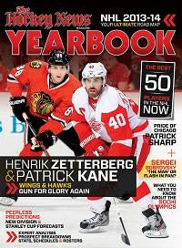 2013/14 YEARBOOK | Detroit & Chicago Cover