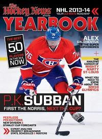 2013/14 YEARBOOK | Montreal Cover - English