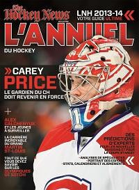 2013 - 2014 NHL YEARBOOK | Montreal Cover - French