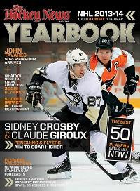 2013 - 2014 NHL YEARBOOK | Pittsburgh & Philadelphia Cover