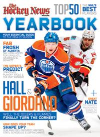 2014 - 2015 NHL YEARBOOK | Calgary & Edmonton Cover