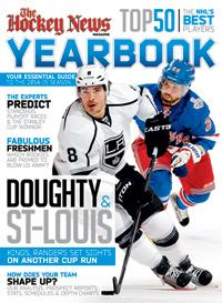 2014/15 YEARBOOK | LA Kings & NY Rangers Cover