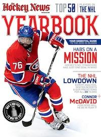 2015 - 2016 NHL YEARBOOK | Montreal Cover