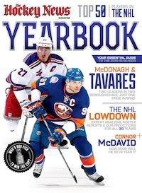 2015 - 2016 NHL YEARBOOK | New York Cover