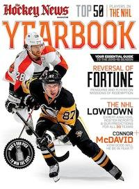 2015 - 2016 NHL YEARBOOK | Pittsburgh & Philadelphia Cover