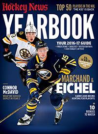 2016/17 YEARBOOK | Boston & Buffalo Cover