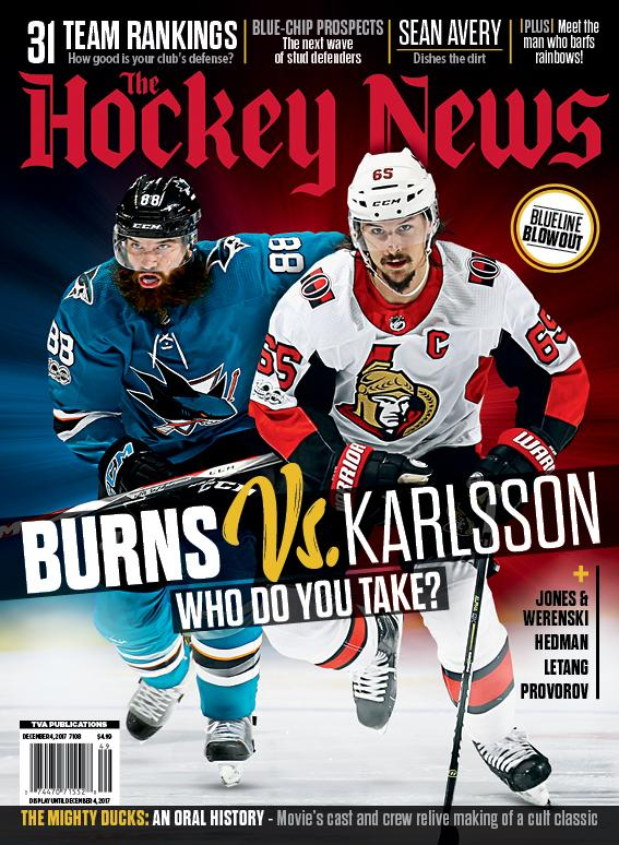 2017 NHL TEAM RANKINGS | BURNS Vs. KARLSSON | 7108