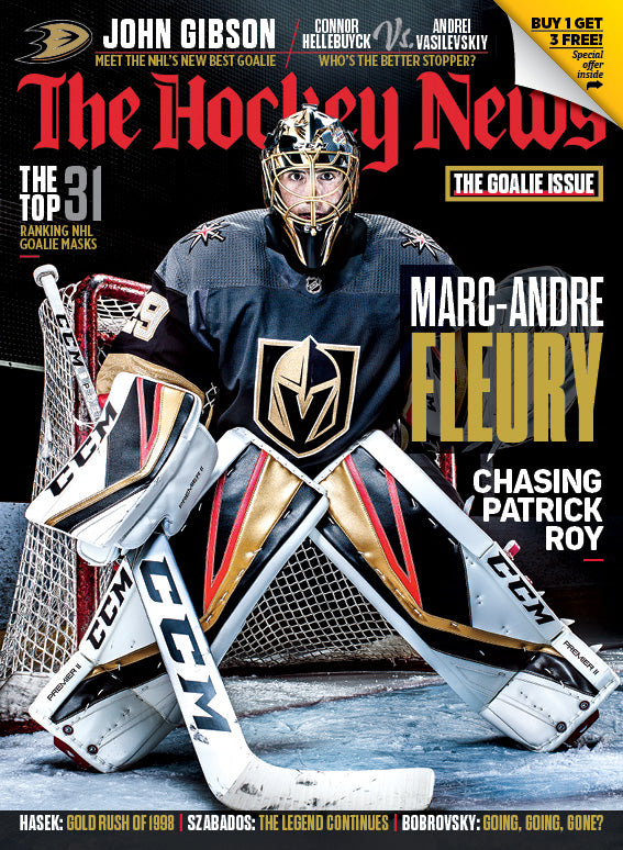 NOVEMBER 26, 2018 | THE GOALIE ISSUE | 7207
