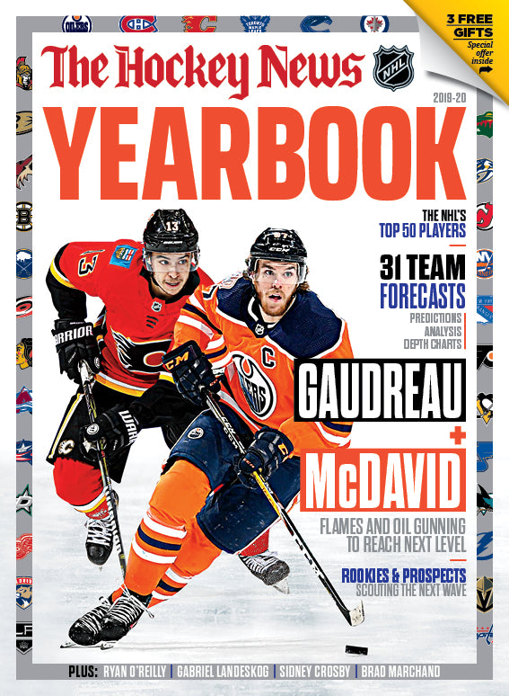 2019 - 2020 NHL YEARBOOK - McDavid Cover  | 7219