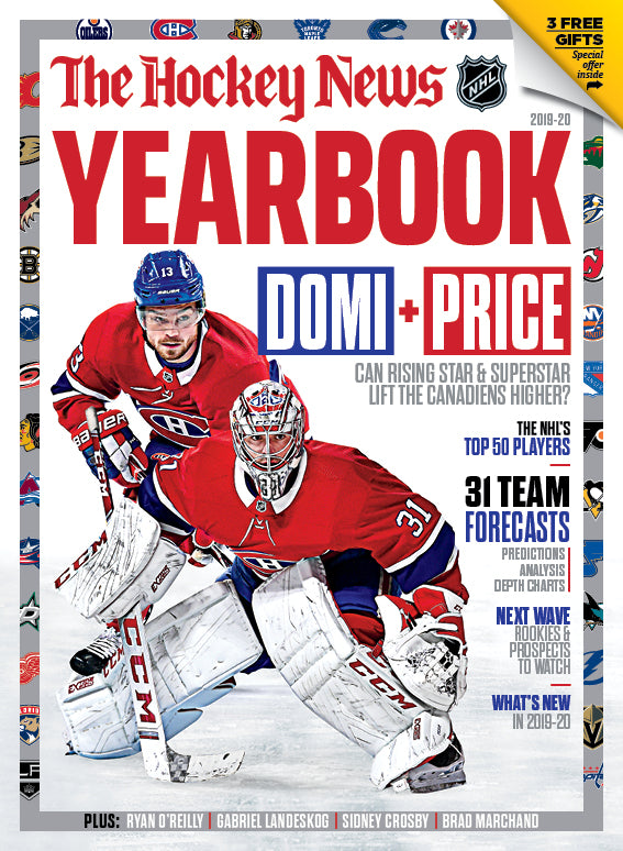2019 - 2020 NHL YEARBOOK - Carey Price Cover | 7219