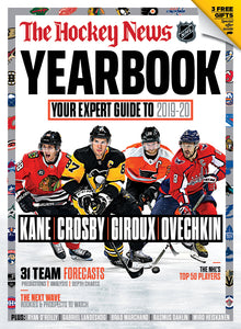 2019 - 2020 YEARBOOK NHL- Chicago/Pittsburgh/Philadelphia/Washington Cover