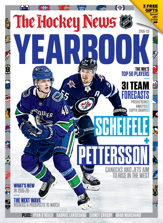 2019 - 2020 NHL YEARBOOK | Vancouver & Winnipeg Cover | 7219