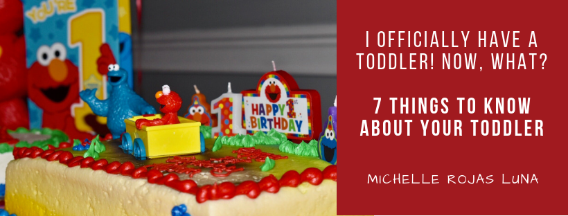 I Officially Have a Toddler! Now, What? - 7 Things to Know About Your Toddler