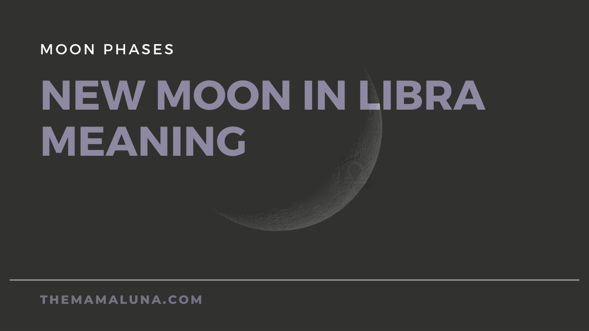 New Moon in Libra: Find the balance, let the harmony grow