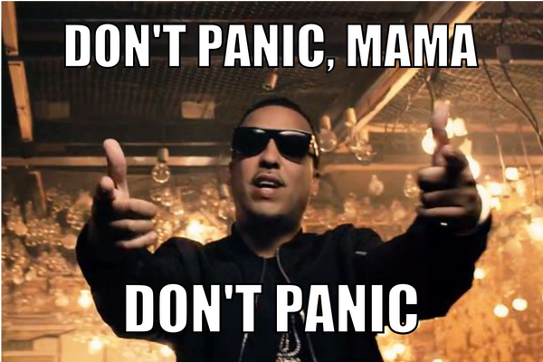 french montana mama dont panic meme