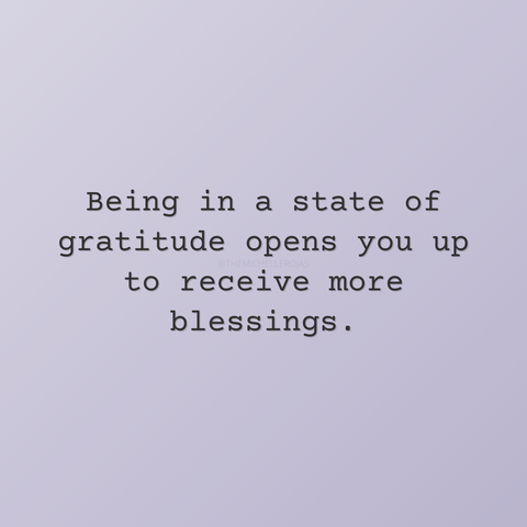 gratitude frequency