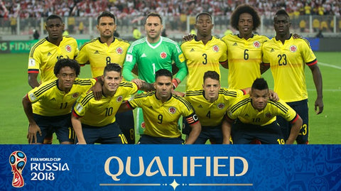 world cup 2018 colombia team