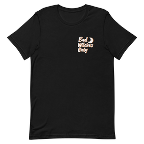 Bad Witches Only Black T-Shirt - White/Orange