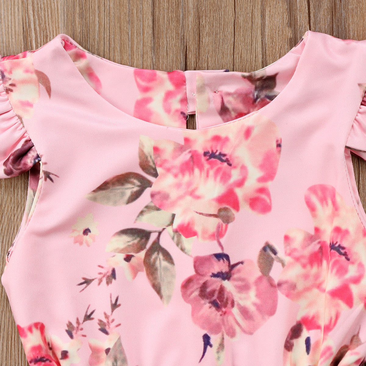Headband 2Pcs Floral Printed Sleeveless Jumpsuit Outfits Summer Clothes Fyhuzp Infant Baby Girls Romper