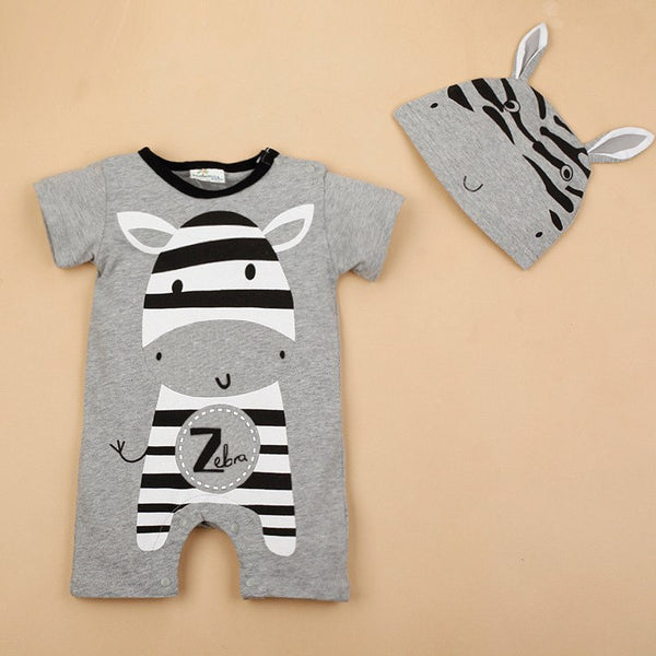 5c4e6ad4a7381 Baby Boy Clothes 2017 Summer Baby Girls Clothing Sets Cotton Baby Rompers  Newborn Baby Clothes Roupas Bebe Infant Jumpsuits