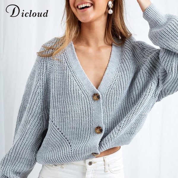 Batwing Sleeve Oversized Knitted Sweater