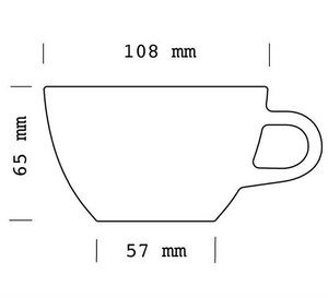 Latte Cup (6 pack)