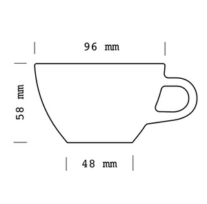 Cappuccino Cup (6 pack)