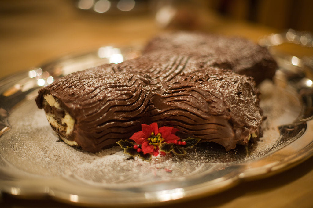 yule log recipe mypanier chestnut cream