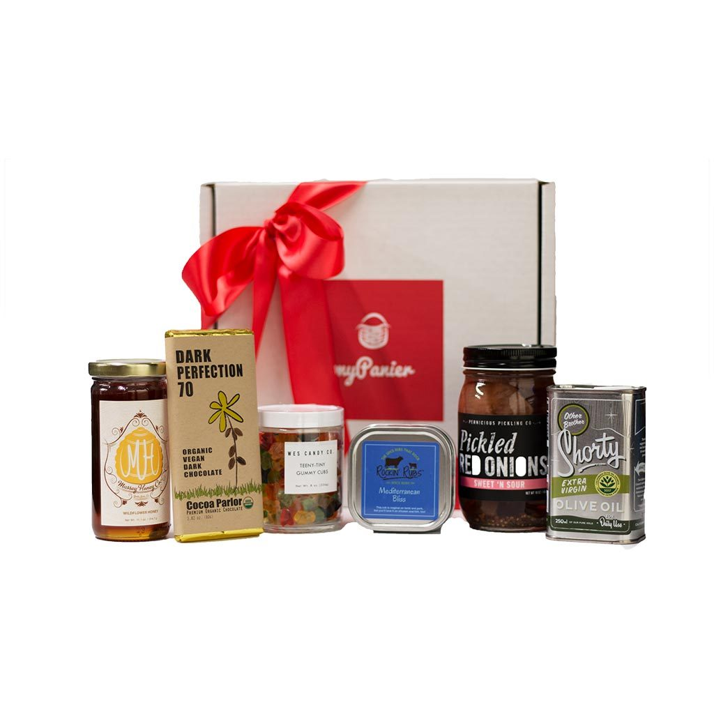 California gift set myPanier local food