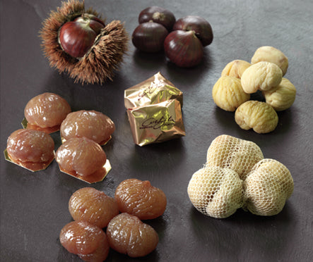 Forget Chocolate Give Candied Chestnut Instead-Chestnuts Wrapped In Tulle Muslin-myPanier