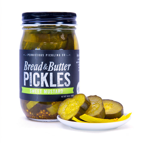 Pernicious Pickling-Bread and Butter Pickles-myPanier