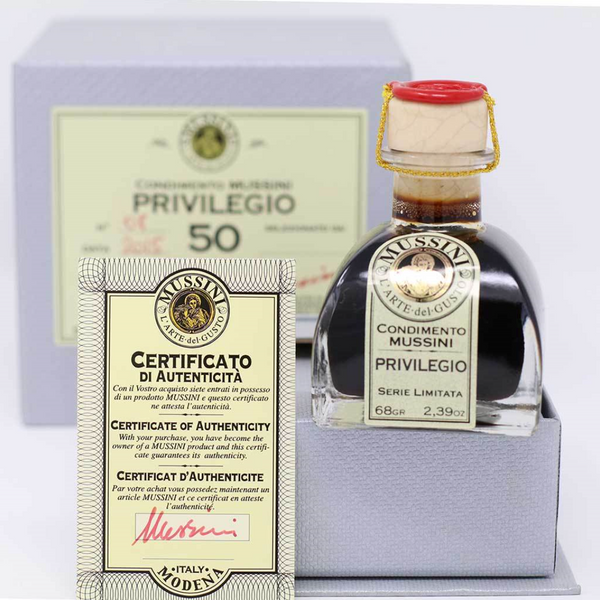 Mussini - 50 Year Aged Balsamic Vinegar from Modena | Privilegio | 71ml (2.4oz) on myPanier