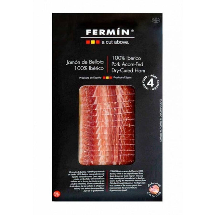 Fermin - 100% Acorn-Fed Dry Cured Iberico Ham (Sliced), 2oz (55g)