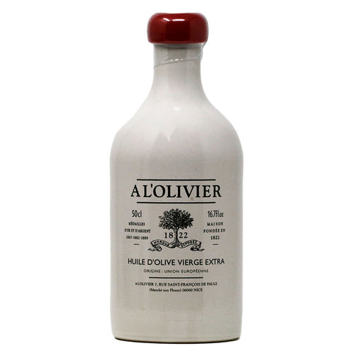 A L'Olivier - Extra Virgin Olive Oil, 500ml White Crock